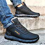 Ботинки ЗИМНИЕ Мужские Colamb!a Кроссовки на Меху Чёрные (размеры:40,41,42,43) Видео Обзор, фото 7