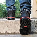 Кроссовки ЗИМНИЕ Мужские Colamb!a Туфли на Меху Чёрные (размеры: 44) Видео Обзор, фото 5