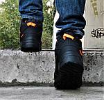 Зимові Кросівки ADIDAS TERREX з ХУТРОМ Чорні Чоловічі Черевики Адідас (розміри: 46)Відеоогляд, фото 6
