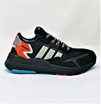 Кроссовки Мужские Adidas Jogger Чёрные Адидас (размеры: 41,42,43,44,45,46) Видео Обзор, фото 2