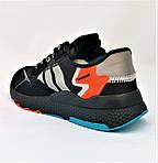 Кроссовки Мужские Adidas Jogger Чёрные Адидас (размеры: 41,42,43,44,45,46) Видео Обзор, фото 5