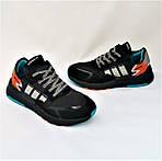 Кроссовки Мужские Adidas Jogger Чёрные Адидас (размеры: 41,42,43,44,45,46) Видео Обзор, фото 8