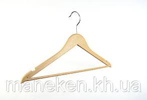 Плечики деревянные 44см(лак), фото 2