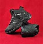 Зимние Кроссовки ADIDAS TERREX с МЕХОМ Черные Мужские Ботинки Адидас (размеры: 41,42,43,45)ВидеоОбзор, фото 4