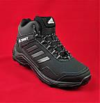 Зимние Кроссовки ADIDAS TERREX с МЕХОМ Черные Мужские Ботинки Адидас (размеры: 41,42,43,45)ВидеоОбзор, фото 9