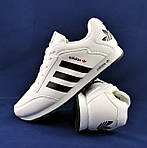 Кроссовки ADIDAS Мужские Белые Адидас (размеры: 42,43,44,45,46) Видео Обзор, фото 2