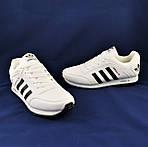 Кроссовки ADIDAS Мужские Белые Адидас (размеры: 42,43,44,45,46) Видео Обзор, фото 9