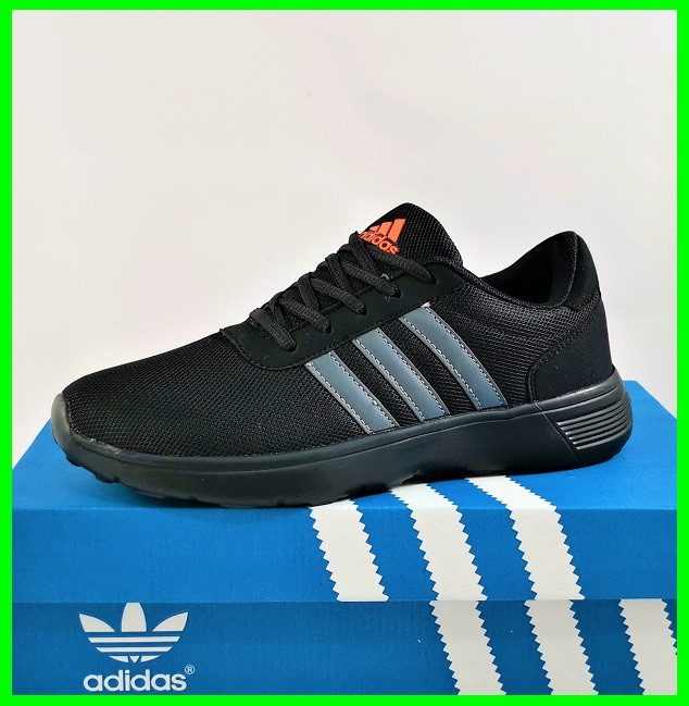 Кроссовки Adidas Мужские Черные Адидас BOOST (размеры: 41,42,43,44,45) Видео Обзор