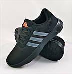 Кроссовки Adidas Мужские Черные Адидас BOOST (размеры: 41,42,43,44,45) Видео Обзор, фото 2