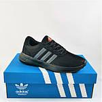 Кроссовки Adidas Мужские Черные Адидас BOOST (размеры: 41,42,43,44,45) Видео Обзор, фото 7