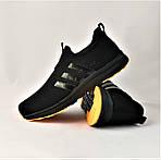 Кроссовки Adidas Сеточка Мужские Черные Летние Адидас Мокасины (размеры: 41,42,43,45) Видео Обзор, фото 8