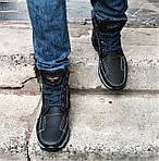 Ботинки ЗИМНИЕ Мужские Colamb!a  Кроссовки на Меху Чёрные (размеры:40,42,43,44,45) Видео Обзор, фото 2