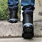 Ботинки ЗИМНИЕ Мужские Colamb!a  Кроссовки на Меху Чёрные (размеры:40,42,43,44,45) Видео Обзор, фото 4