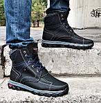 Ботинки ЗИМНИЕ Мужские Colamb!a  Кроссовки на Меху Чёрные (размеры:40,42,43,44,45) Видео Обзор, фото 5