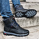 Ботинки ЗИМНИЕ Мужские Colamb!a  Кроссовки на Меху Чёрные (размеры:40,42,43,44,45) Видео Обзор, фото 6