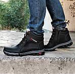 Ботинки ЗИМНИЕ Мужские Colamb!a Кроссовки на Меху Чёрные (размеры: 40,41,45) Видео Обзор, фото 2