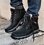 Ботинки ЗИМНИЕ Мужские Colamb!a Кроссовки на Меху Чёрные (размеры: 40,41,45) Видео Обзор, фото 3