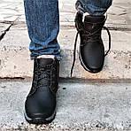 Ботинки ЗИМНИЕ Мужские Colamb!a Кроссовки на Меху Чёрные (размеры: 40,41,45) Видео Обзор, фото 4