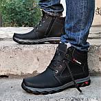 Ботинки ЗИМНИЕ Мужские Colamb!a Кроссовки на Меху Чёрные (размеры: 40,41,45) Видео Обзор, фото 7