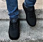 Зимние Кроссовки Adidas $harks Мужские с Мехом Адидас Чёрные Акула (размеры: 46) Видео Обзор, фото 3