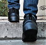 Зимние Кроссовки Adidas $harks Мужские с Мехом Адидас Чёрные Акула (размеры: 46) Видео Обзор, фото 6
