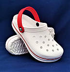 Женские Тапочки CROCS Белые Кроксы Шлёпки Сланцы (размеры: 41), фото 2