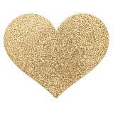 Украшение на соски Bijoux Indiscrets - Flash Heart Gold, фото 2