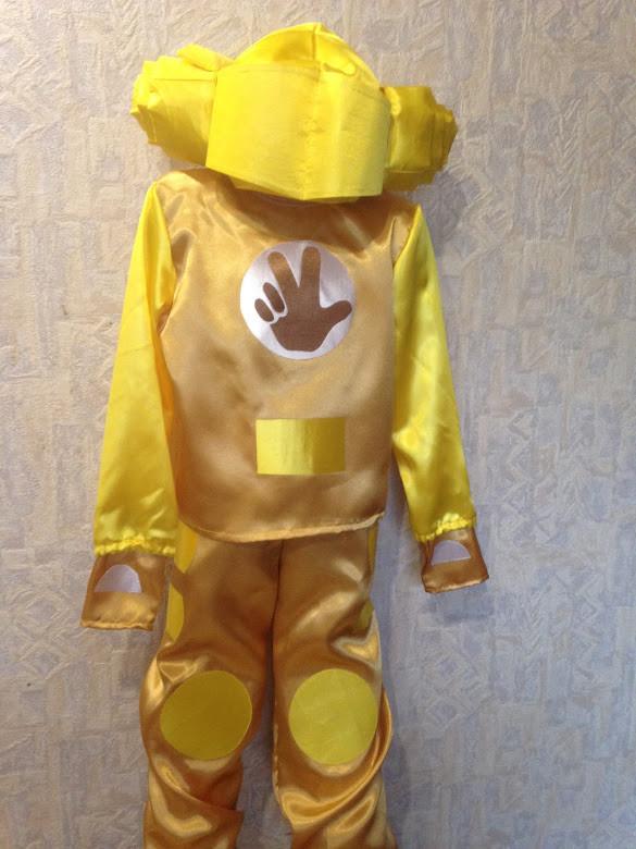 Карнавальный костюм фиксик Шпуля