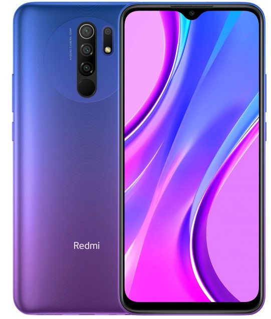 Xiaomi Redmi 9 4/128Gb Blue Global Гарантия 1 Год