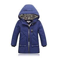 Удлиненная куртка демисезонная, размеры: 110, 120, 130, 140
