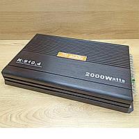 Автомобильный 4-х канальный усилитель звука Amplifier K-910.4 2000W