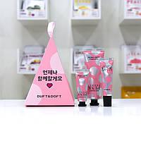 Подарочный набор корейской косметики Duft Doft Для ухода за кожей рук и губ