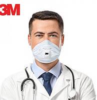 ОРИГІНАЛ Респіратор 3М захисна маска ОРИГИНАЛ 15 шт Респиратор 3М защитная маска Сертификат