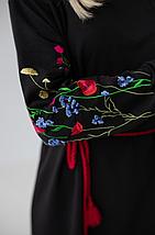 """Женское трикотажное платье """"Полевые цветы"""", фото 3"""