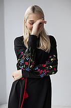 """Женское трикотажное платье """"Полевые цветы"""", фото 2"""