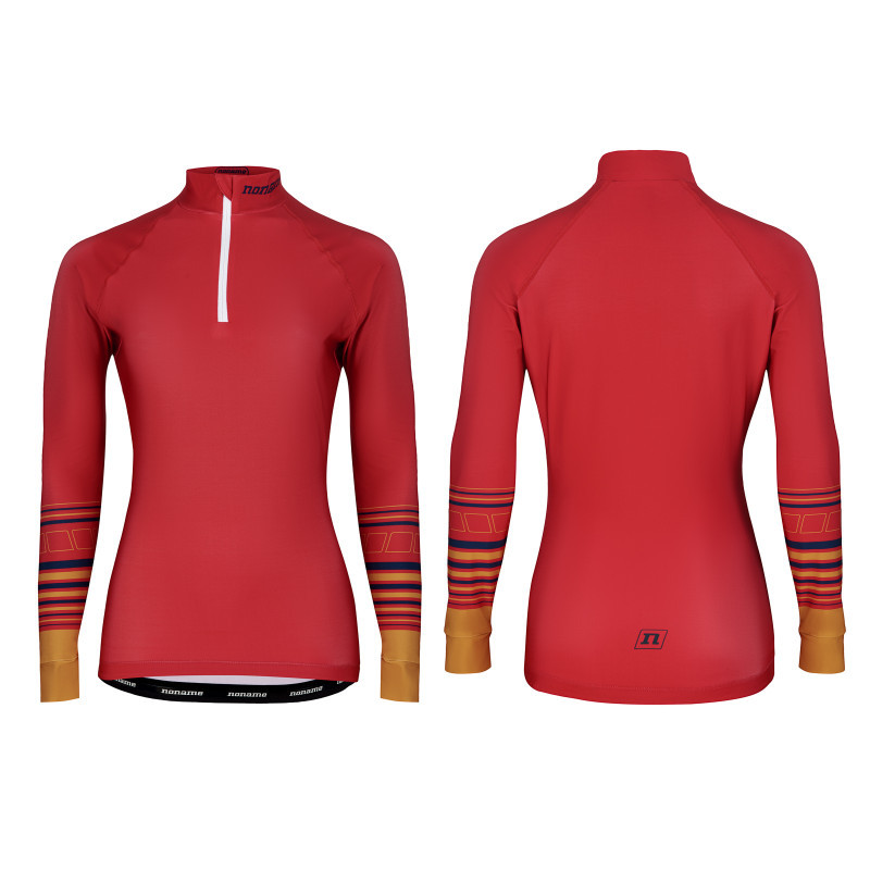 Лижна майка Noname WS ON THE MOVE RACE TOP WO'S 21 BURGUNDY/GOLD