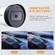 WiFi видеокамера IMOU Bullet Lite (Dahua IPC-G22P) 2Mp, IP, уличная, фото 4