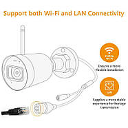 WiFi видеокамера IMOU Bullet Lite (Dahua IPC-G22P) 2Mp, IP, уличная, фото 5