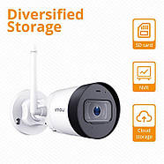 WiFi видеокамера IMOU Bullet Lite (Dahua IPC-G22P) 2Mp, IP, уличная, фото 6