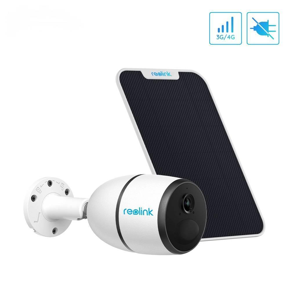 4G камера Reolink Go (3G, LTE, WiFi, 7800 mAh) + солнечная панель