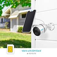 4G камера Reolink Go (3G, LTE, WiFi, 7800 mAh) + солнечная панель, фото 2