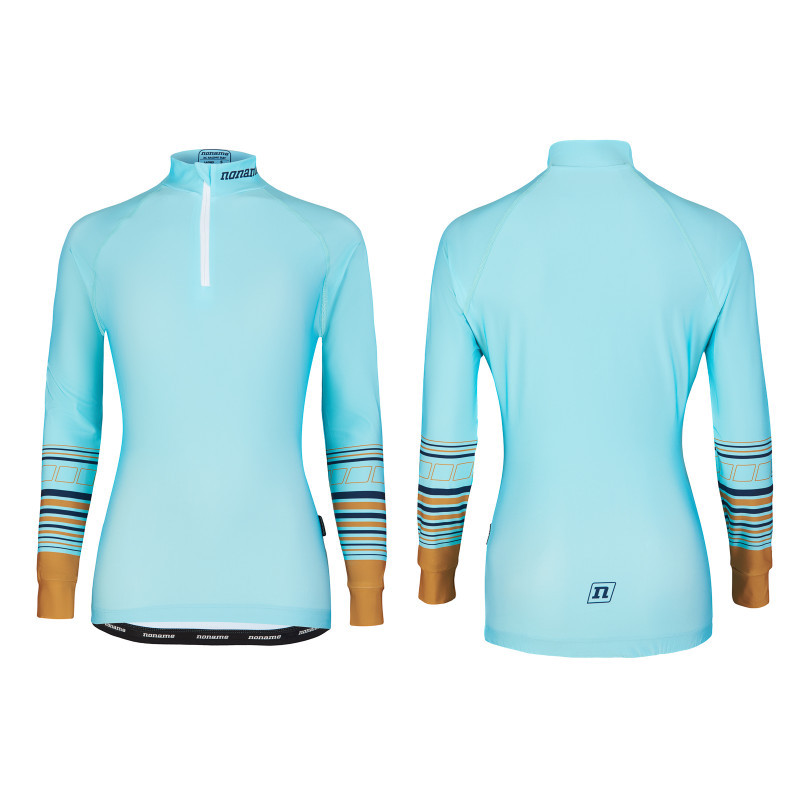 Футболка Noname WS ON THE MOVE RACE TOP WO'S 21 TEAL/GOLD