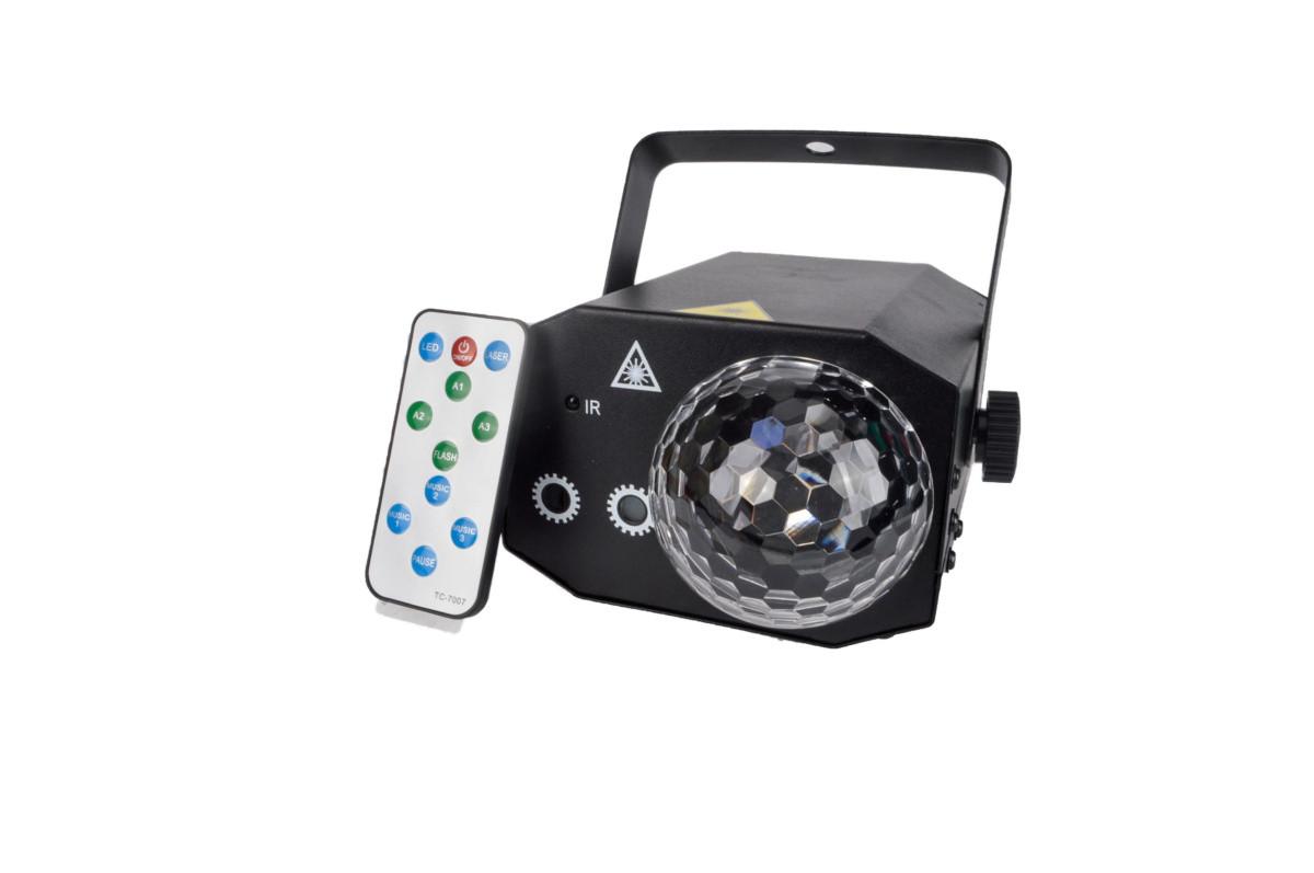 Світловий лазерний ефект Free Color MAGIC LASER BALL