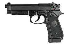 Пістолет KJW Beretta M9A1 CO2 - Black