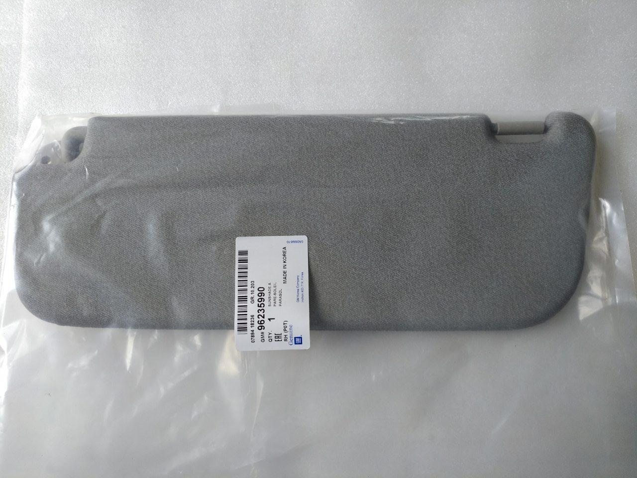 Козырек солнцезащитный правый Ланос GM Корея (оригинал)