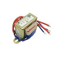Понижающий трансформатор 220V AC / 24V AC однофазный блок питания модуль