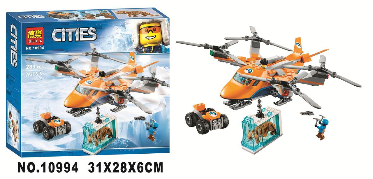 """Конструктор BELA 10994 CITY """"Арктический вертолет"""" и квадроцикл 289 деталей от 6 лет"""