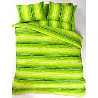 Постельное белье Lotus Ranforce - Metropolis зеленый евро