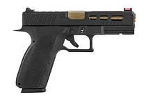 Пістолет KJW KP-13-C Green Gas - Black