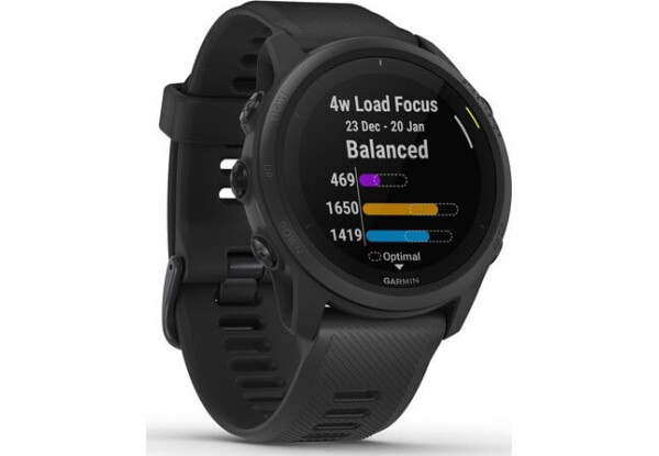 Умные часы Smart Watch Garmin Forerunner 745 Black (010-02445-10)